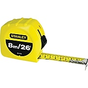 """Stanley® Tape Rules, 1"""" x 26ft Blade, 8m"""