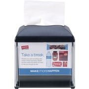 "Tork Xpressnap® Cafe Dispenser, Black, W 5.9"" x H 6.2"" x D 5.9"""