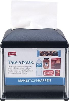 Tork Xpressnap® Cafe Dispenser, Black, W 5.9