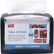 "Staples® Tork Xpressnap® Tabletop Dispenser, Black, W 7.9"" x H 6.1"" x D 5.9"""