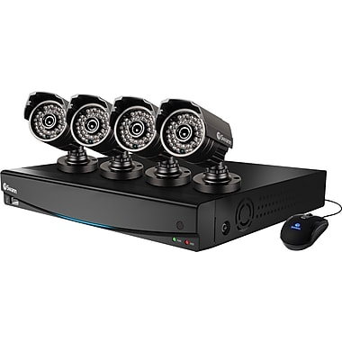 DVR4-3425™ 4 Channel 960H Digital Video Recorder & 4 x PRO-735™ Cameras
