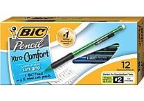 BIC Matic Grip Mechanical Pencils .7mm, Dozen (40473/MPG11)
