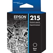 Epson T215 Black Standard Yield Ink Cartridge