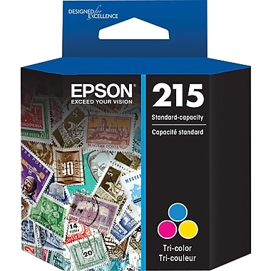 Epson 215, Tri-color Ink Cartridge (T215530)