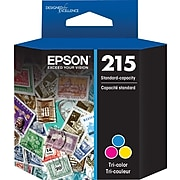 Epson T215 Tri-Color Standard Yield Ink Cartridge