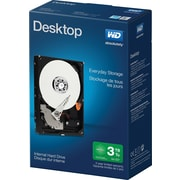 "WD Mainstream 3 TB Desktop Internal Hard Drive, SATA, 6GB/s, 3.5"" (WDBH2D0030HNC)"