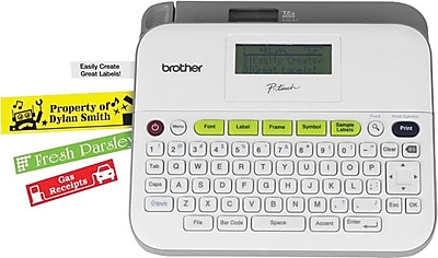 Brother P-Touch PT-D400 - labelmaker - monochrome - thermal transfer