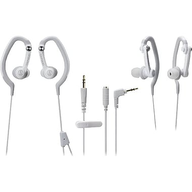 Audio Technica SonicSport In-ear Headphones, White