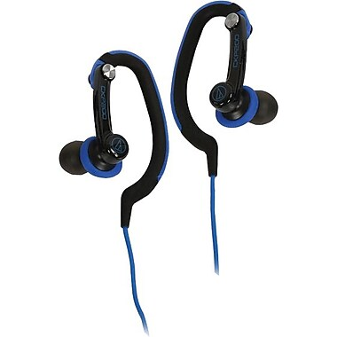 Audio Technica SonicSport In-ear Headphones, Blue
