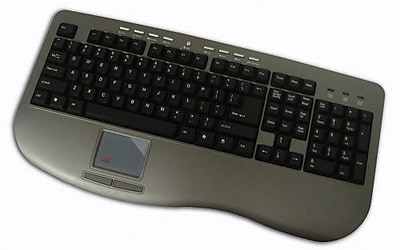 Adesso AKB-430UG Win-Touch Pro Desktop Keyboard with Glidepoint Touchpad