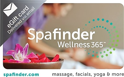 SpaFinder Gift Card $50 (Email Delivery)