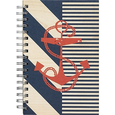 Paperchase Anchors Ahoy Notebook, Anchor