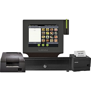 Lavu Point of Sale for Restaurants - iPad Air POS - Dual Printer