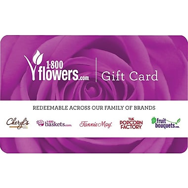 1800 Flowers Gift Card $100 (Email Delivery)