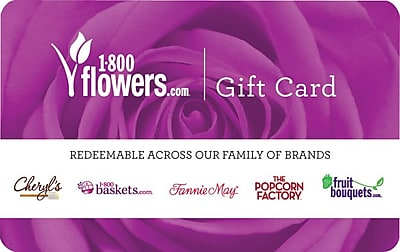 1800 Flowers Gift Card $25 (Email Delivery)