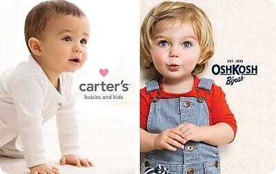 Osh Kosh/Carters Gift Card $50