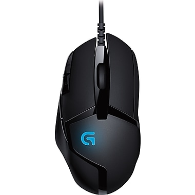 Logitech G402 Hyperion Fury Ultra-fast FPS Gaming Laser Mouse (910-004069)