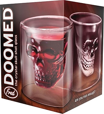 Fred&Friends Doomed Skull Shot Glass