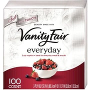 Vanity Fair® Everyday Napkins, 2-Ply, 100/Pack (35501)