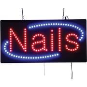 LED Nails Sign