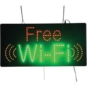 LED Free WiFi Sign
