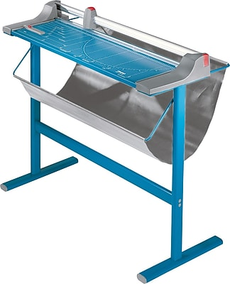 Dahle Large Format Premium Rolling Trimmer with Stand, 51.2