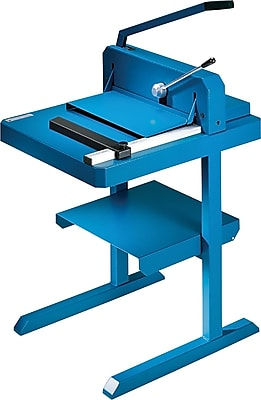 Dahle Professional Stack Cutter, 200 sheet capacity, Blue (842)