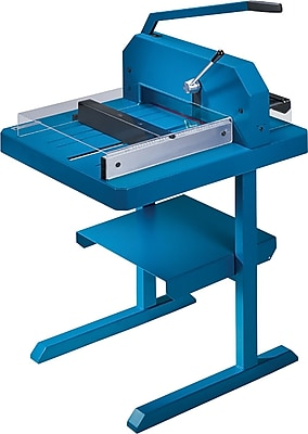 Dahle Professional Stack Cutter, 500 sheet capacity, Blue (846)