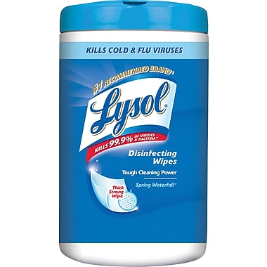 Lysol Disinfecting Wipes, Spring Waterfalls, 110 Wipes/Pack