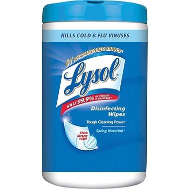 Lysol – Lingettes désinfectantes, cascade de printemps, paq./110