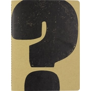 "Paperchase Wireless Notebook, ? - Question Mark, 7""x9.25"""