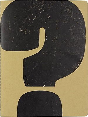 Paperchase Wireless Notebook, ? - Question Mark, 7