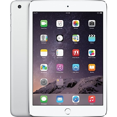 Apple iPad mini 3 with Retina display with WiFi 16GB, Silver