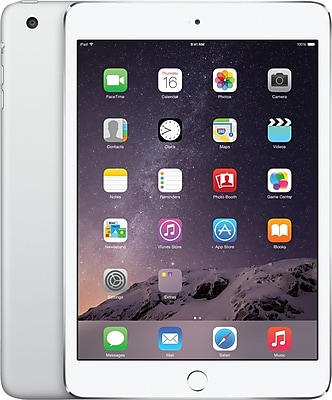 Apple iPad mini 3 with Retina display with WiFi 64GB, Silver
