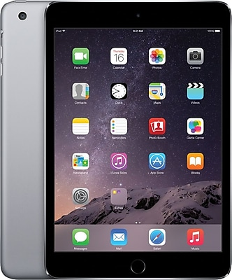 Apple iPad mini 3 with Retina display with WiFi 16GB, Space Gray