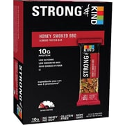 Strong & KIND Honey Smoked BBQ Almond Protein Bar, 1.6 oz, 12 count