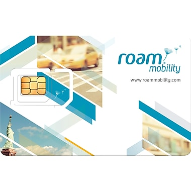 Roam Mobility USA Travel SIM Card