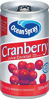 Ocean Spray Cranberry Juice Cocktail, 48 count