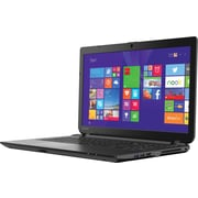 "Toshiba C55-B5362 15.6"" Notebook, TruBrite® TFT Display, Intel Core i3-4005U, 500GB Hard Drive, 4GB RAM, Windows 8.1, Black"