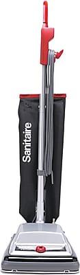 Heavy-Duty Upright Vacuum, 18lb, Black