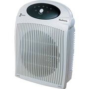 "Holmes® Heater Fan with ALCI Safety Plug, 1,500 W, 10 1/4"" x 6 1/2"" x 12 1/2"", White (HFH422-UM)"