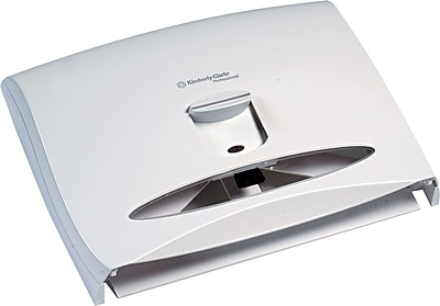 Kimberly-Clark Professional* Personal Seats Toilet Seat Cover Dispenser, Plastic, White (9505)