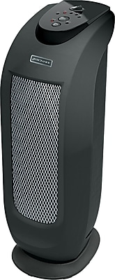 Bionaire Oscillating Ceramic Mini Tower Heater, 1,500 W, 12 3/5