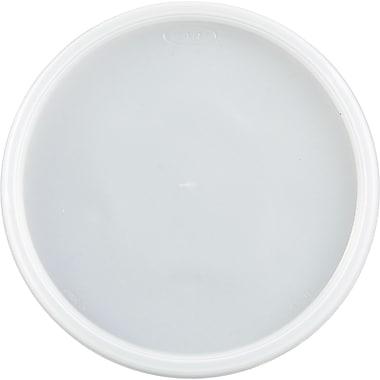 Dart® Plastic Lids, Translucent, Plastic, 500/Carton (DCC 48JL)