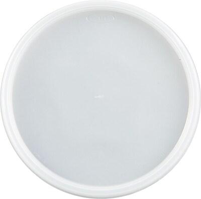 Dart® Vented Foam Container Lids, 48 oz., Translucent, 500/Carton (48JL)