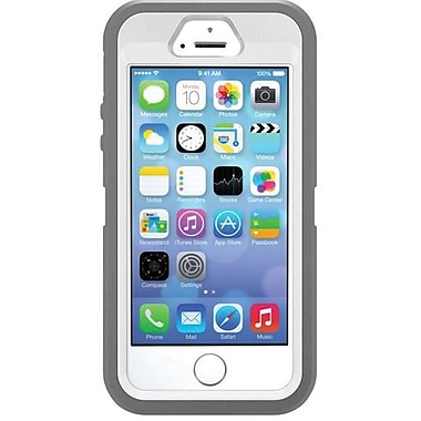 Otterbox Defender for iPhone 5S, White Gray