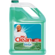 Multipurpose Cleaning Solution With Febreze, 128 Oz Bottle, Meadows & Rain Scent