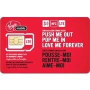 Virgin Mobile – Carte combo NFC SIM et Micro SIM