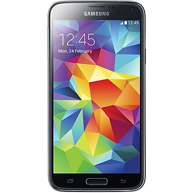 Samsung Galaxy S5 G900A 4G LTE 16GB Locked GSM Android Phone - Black