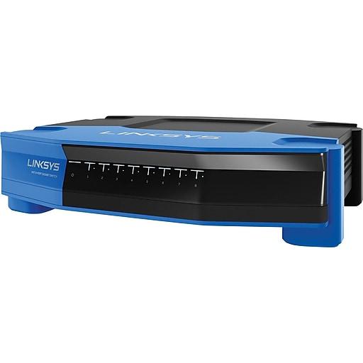 Linksys 8-Port WRT Gigabit Ethernet Switch - SE4008